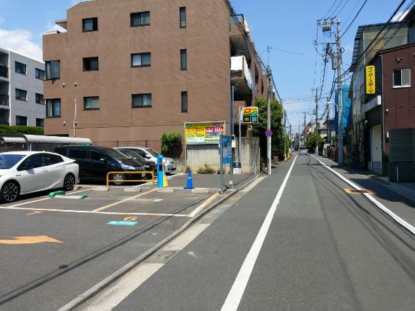 【即時利用】BLUU Smart Parking エイブルパーキング 碑文谷1丁目の画像1